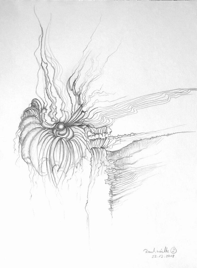 Zeichnung Rauhnächte 2018
